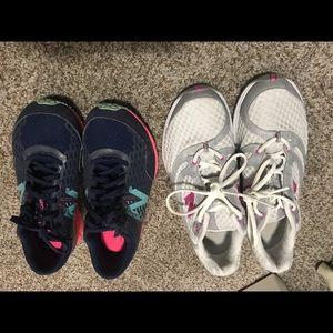 New balance sneaker lot of 2 pairs
